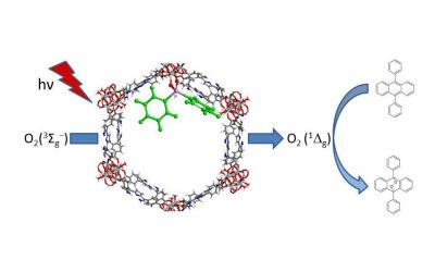 Postsynthetic modification of a Zr-MOF at the SBU with diphenylphosphinic acid